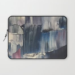 Drenched in Rain-Wrapped Shadows Laptop Sleeve
