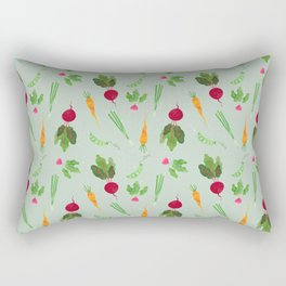 Eat more veggies! Light version Rectangular Pillow