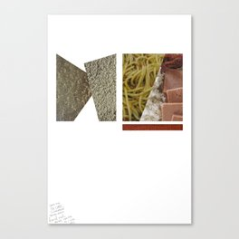 No Carbs and Cholestrols   Canvas Print
