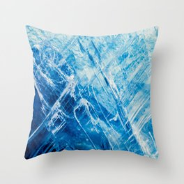 Blue Kyanite Throw Pillow