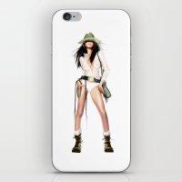 cowboy bebop iPhone & iPod Skins featuring cowboy by tatiana-teni