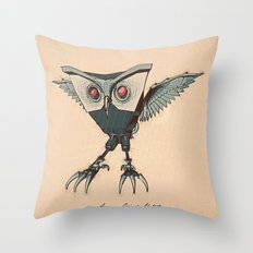 ANGRY BIRD METAL Throw Pillow