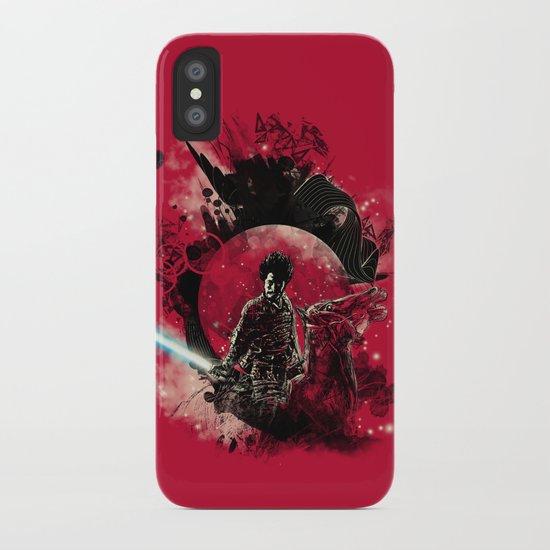 bad side of the samurai iPhone Case