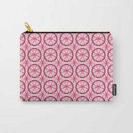 pink circles Carry-All Pouch