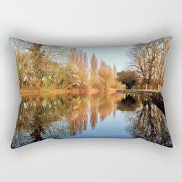 Peaceful Reflection Rectangular Pillow