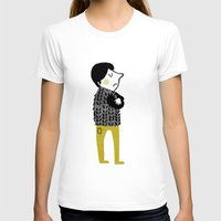 shopping T-shirts featuring vest shopping... by mummysam