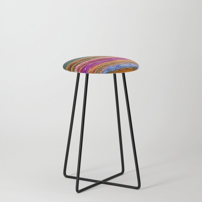 Indian Colors Counter Stool