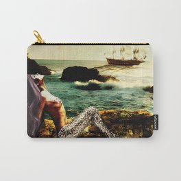 Mermaid in the Sun Carry-All Pouch