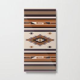 American Native Pattern No. 144 Metal Print
