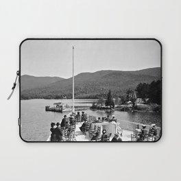Vintage Lake George: Huletts Landing Laptop Sleeve