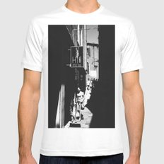 Venetian Streets Mens Fitted Tee White MEDIUM