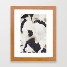 Ink and coffee Framed Art Print