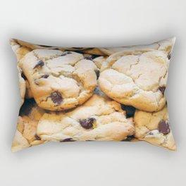 Chocolate Chip Cookies Rectangular Pillow