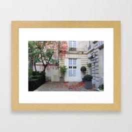 Secret little Spots of Paris  Framed Art Print