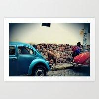 peru Art Prints featuring Peru by glwadys