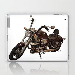 Classic motorcycle original handmade drawing. Gift for bikers Laptop & iPad Skin