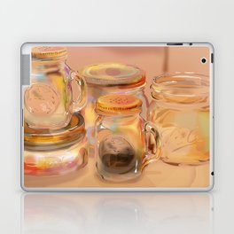 Mason Jars Laptop & iPad Skin