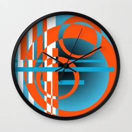Ringers Ring Circles Wall Clock
