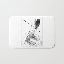 asc 156 - La flèche noire Bath Mat