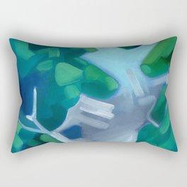 Lush Water Rectangular Pillow
