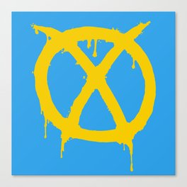 X for Excelsior Canvas Print