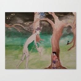 Naked night-terrors Canvas Print