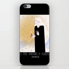 La Petite Fille aux Allumettes iPhone Skin