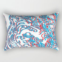 THIRD DIMENSION Rectangular Pillow