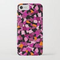 nail polish iPhone & iPod Cases featuring Nail Polish by ts55