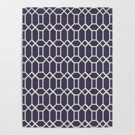 Octagonal Tiles (Patterns Please) Poster