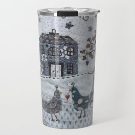 Peacock Manor Travel Mug