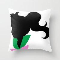 sailor jupiter Throw Pillows featuring Sailor Jupiter by hunnydoll