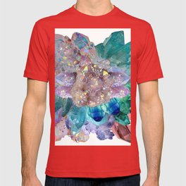 Aura Crystal Bouquet Mandala T-shirt