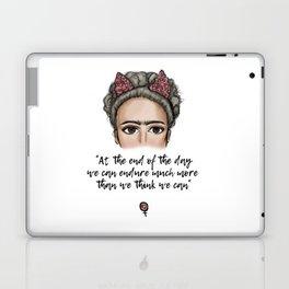 Frida Kahlo Quote Laptop & iPad Skin