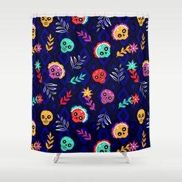 Fiesta Skulls #society6 #skulls Shower Curtain