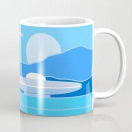 Alien Moon Coffee Mug