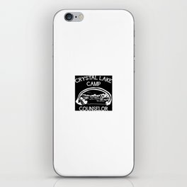 Camp Crystal Lake Counselor iPhone Skin