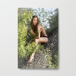 L. Metal Print
