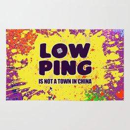 Low-Ping Rug