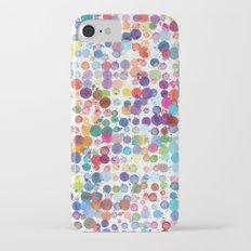 Watercolor Drops iPhone 7 Slim Case