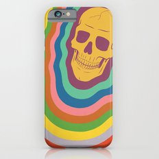 Trippy Rainbow Skull iPhone 6s Slim Case