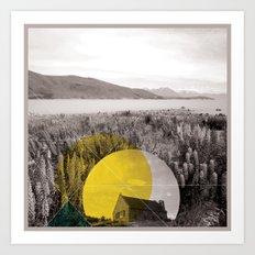 Sojourn series - Lake Tekapo Art Print