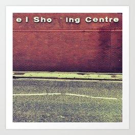el Sho  ing Centre Art Print