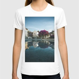PINK LEAF TREE NEAR HOUSE T-shirt
