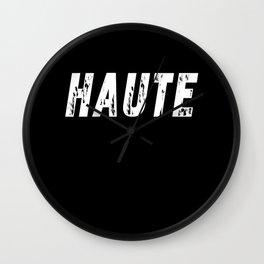 Haute (High) inverse Wall Clock