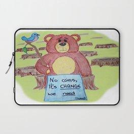 Sad bear & friend Laptop Sleeve