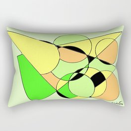 Bubbling over with Joy!                  by Kay Lipton Rectangular Pillow
