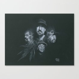 Stoned Raiders Canvas Print