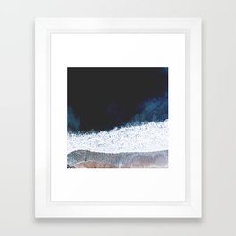 Ocean III (drone photography) Framed Art Print