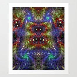 flock-247-12848 Art Print